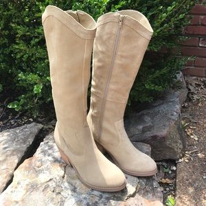 New Seychelles genuine suede western boots size 7